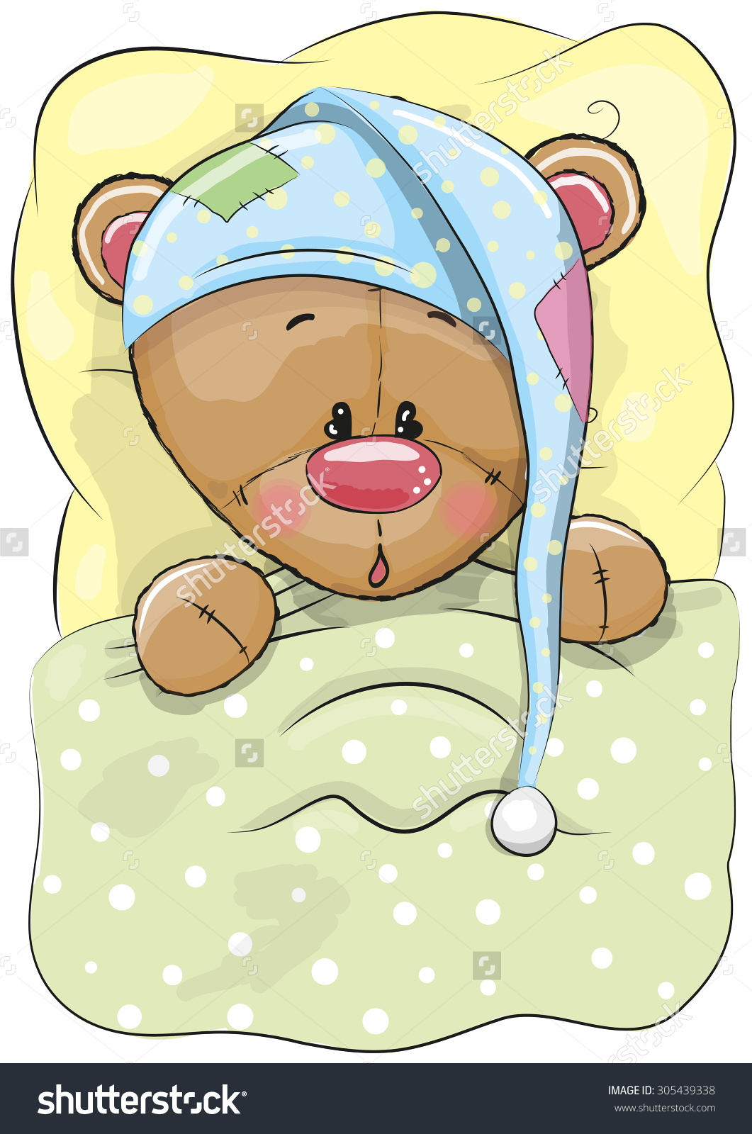 Teddy clipart sleepy Clipart Bedtime Bear Teddy Bear