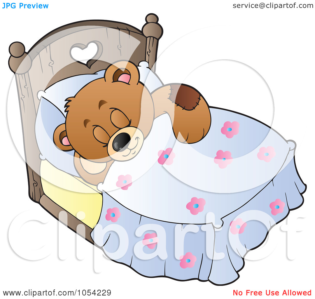 Teddy clipart sleepy Clipart Sleeping Bear Teddy Bear