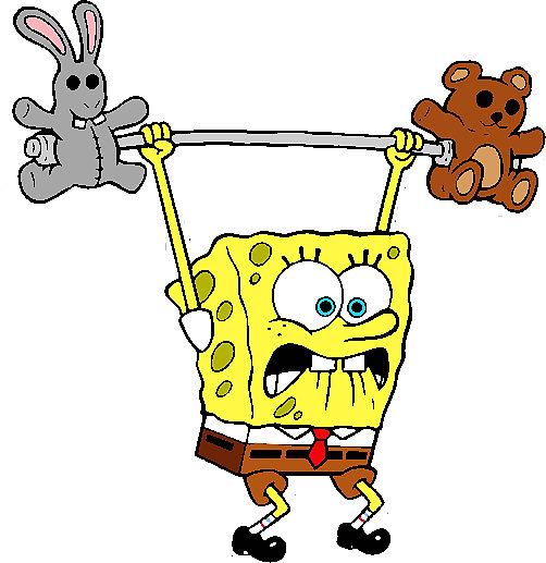 Teddy clipart spongebob #14