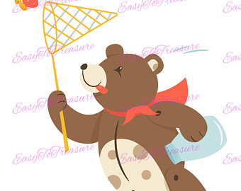 Teddy clipart tiger Clipart Butterfly and PNG JPEG