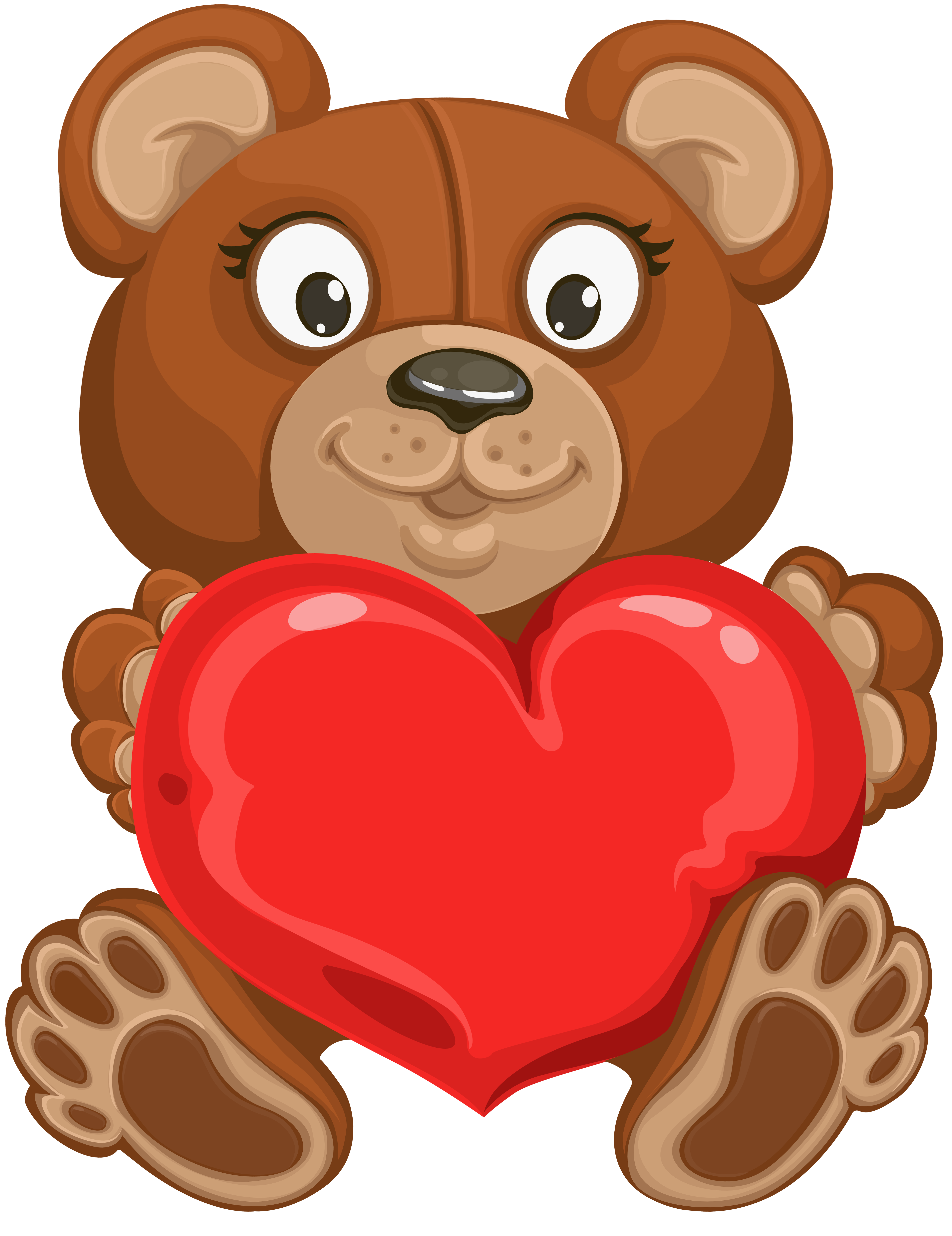 Teddy clipart transparent PNG full with Teddy Image