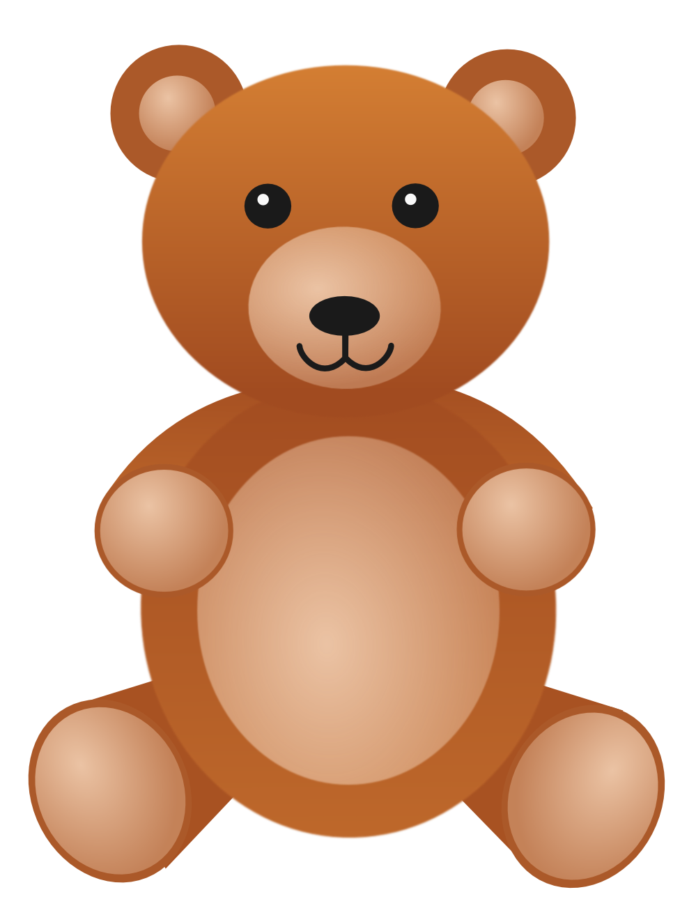 Teddy clipart transparent Clipart Bear drawings Download Bear