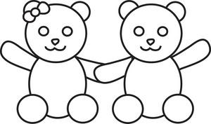 Teddy clipart two Clipart Bears Bear Bears Teddy