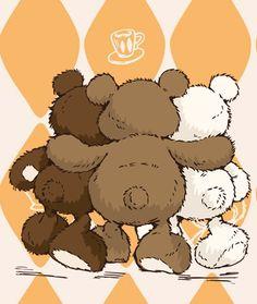 Teddy clipart two Png ArtDrawings peluche Pinterest BearsClip