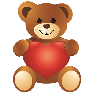 Teddy clipart valentines day teddy bear Teddy Day Heart on Clip
