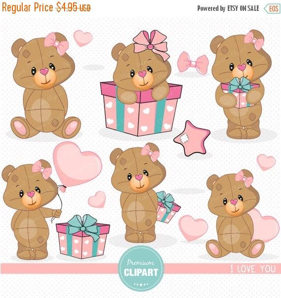 Teddy clipart valentines day teddy bear SEA133 clipart clipart bear bear