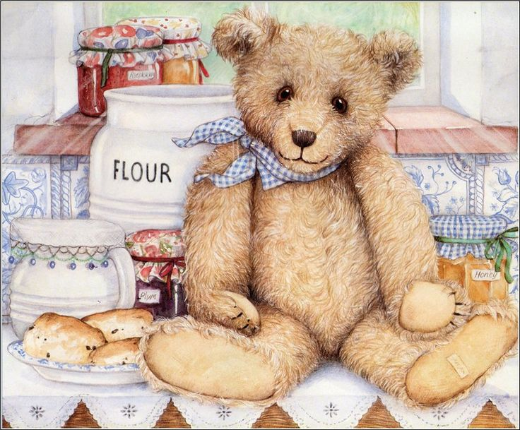 Teddy clipart vintage #14