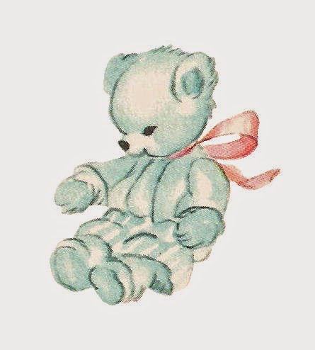 Teddy clipart vintage #10