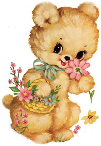 Teddy clipart vintage #3