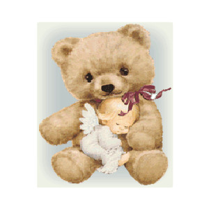 Teddy clipart vintage #7