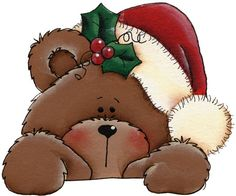 Teddy clipart xmas Cuddly you'll color just and