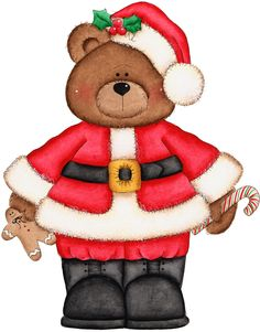 Teddy clipart xmas Images collection Clip Teddy 13KB