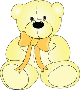 Teddy clipart yellow baby Cute Teddy Bear Cute Bear