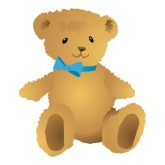Teddy clipart yellow baby #15