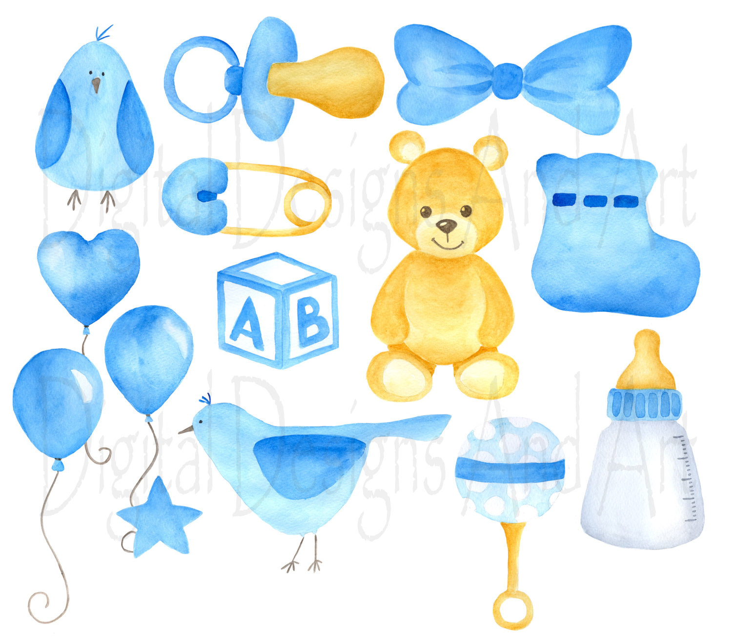 Teddy clipart yellow baby File This boy Blue is