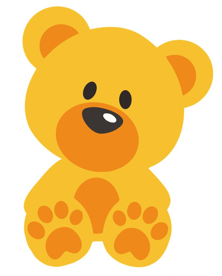 Teddy clipart yellow baby #11
