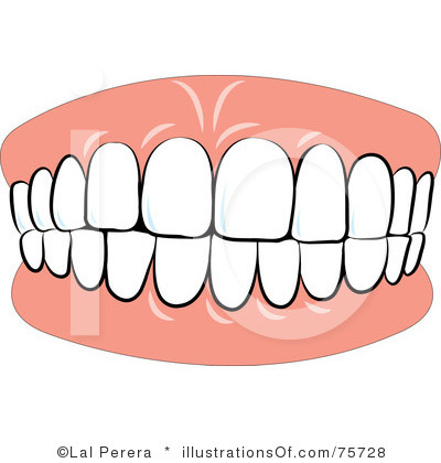 Teeth clipart cartoon Free Tooth Free Clipart Images