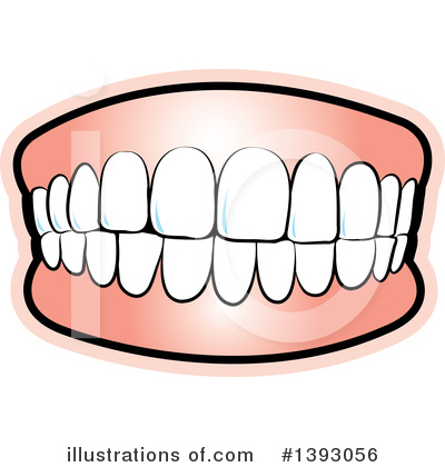 Teeth clipart logo Clipart Illustration Illustration by Lal