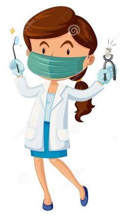 Teeth clipart dentista I E D T N