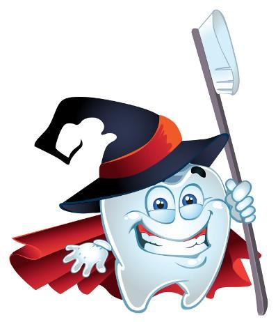 Teeth clipart halloween Halloween Dental Health Oral Answers