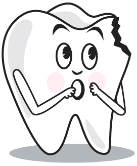 Teeth clipart hurt Mouse The off the Word