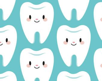 Teeth clipart kawaii Tooth tooth Cute Etsy Kawaii