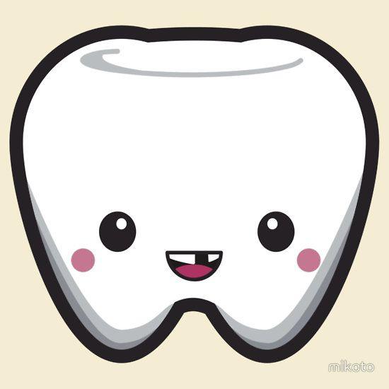 Teeth clipart kawaii :) Pinterest Shirt on about