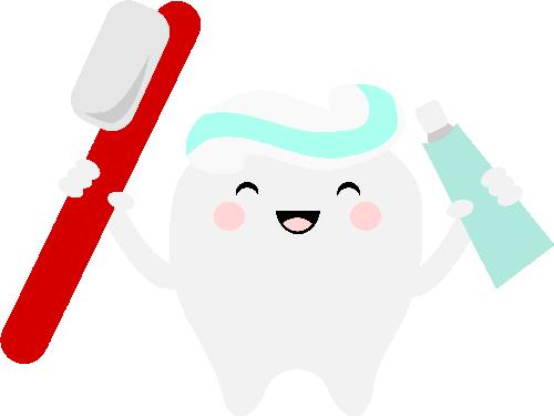 Teeth clipart kawaii Silhouette Tooth Pinterest Silhouette CRICUT