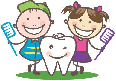 Teeth clipart pediatric dentistry Brushes Smiling a Happy Pediatric