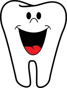 Teeth clipart single tooth Smiling Tooth art png Clip