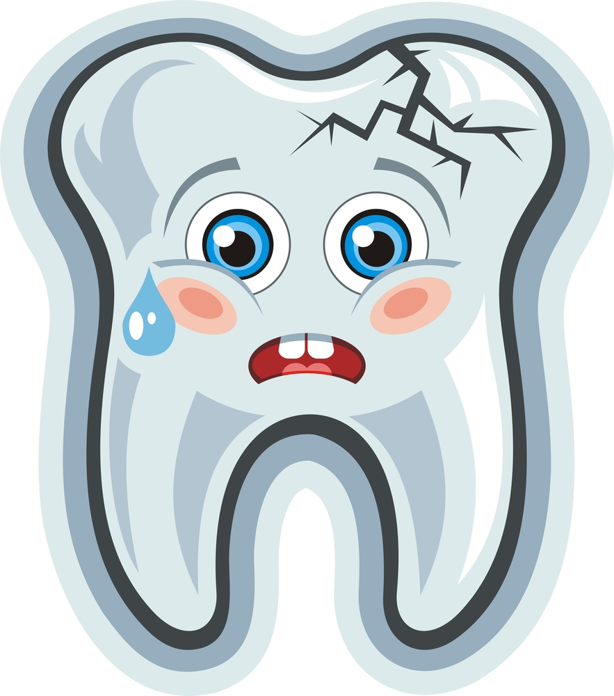 Teeth clipart single tooth Worn down NY of Explains