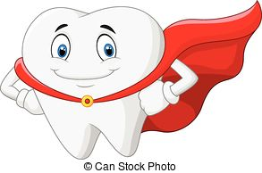 Teeth clipart strong tooth Putut19/2 with superhero illustration clip