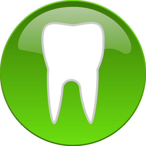 Teeth clipart symbol  com Button this art