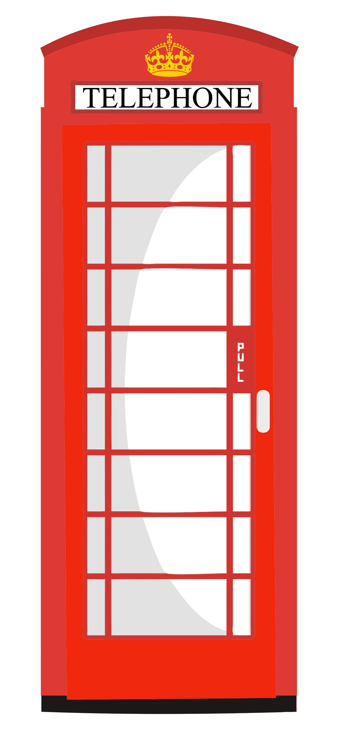 Phone Box clipart Clipart Box Red Red Telephone