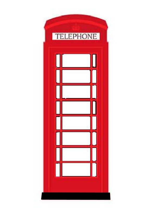 Telephone Booth clipart british guard Telephone Clip – Art Clip