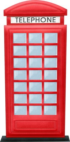 Telephone Booth clipart england map Misc telefonica Londres Telephone Printables