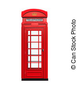 Phone Box clipart Telephone Telephone and Clip Red