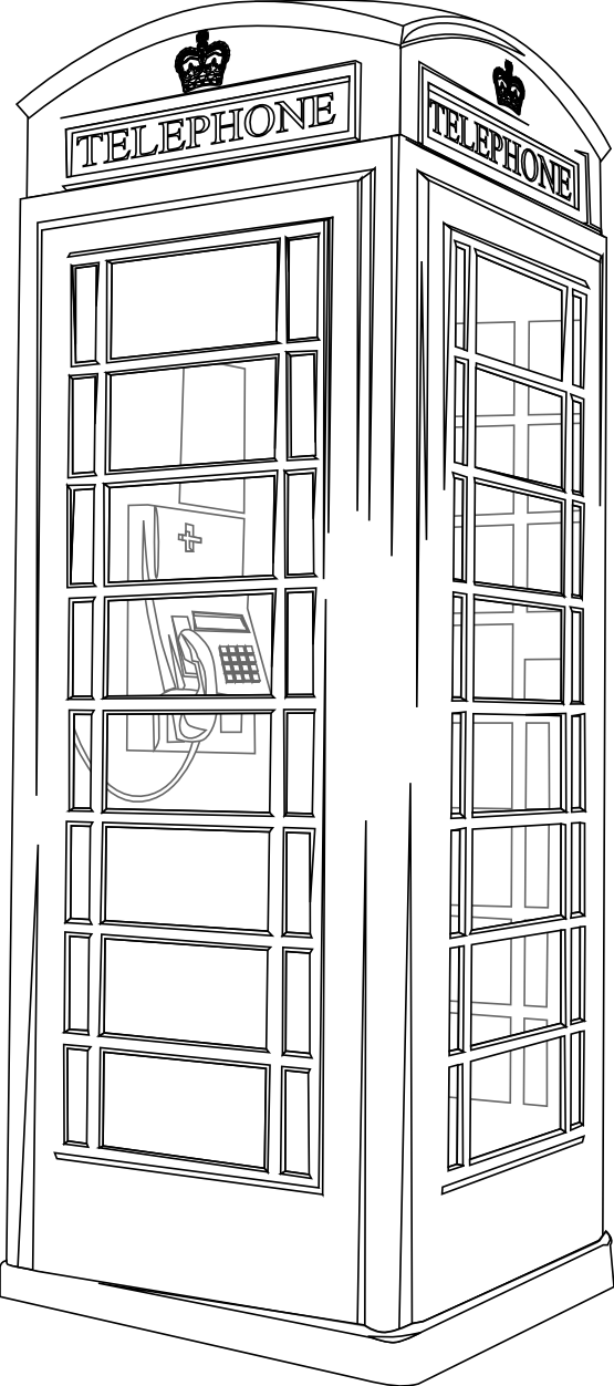 Drawn telephone Box Pinterest  More drawing
