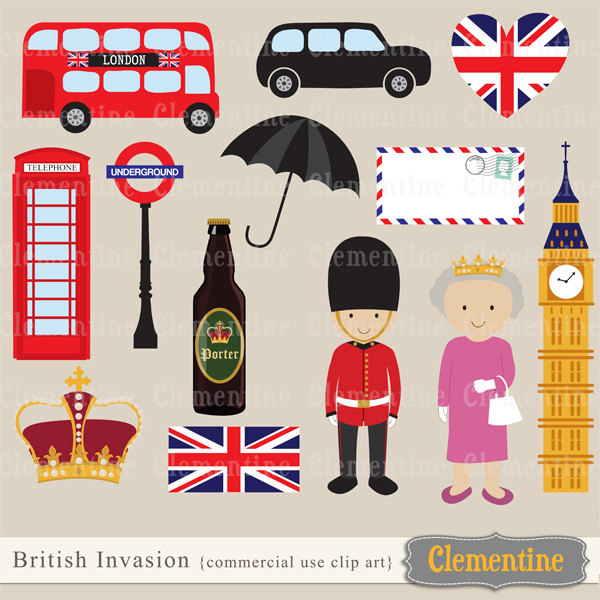 Telephone Booth clipart england map Clipart London crown Clipart clip
