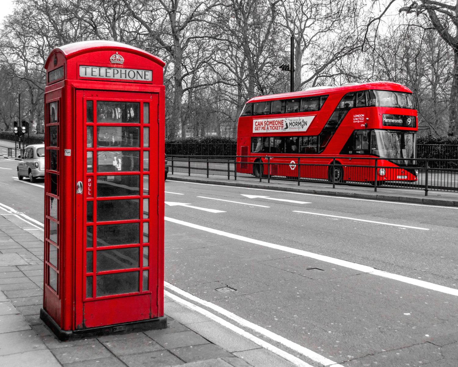 Telephone Booth clipart london double decker bus Booth Booth Red London Etsy