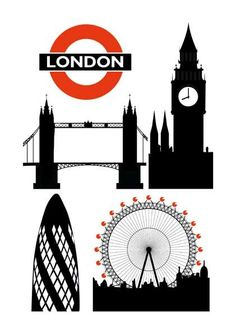 Telephone Booth clipart london landmark Http://www Letterpress and Big Learn