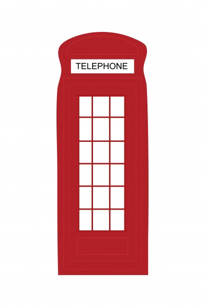 Phone Booth clipart Free Printables London Box Telephone