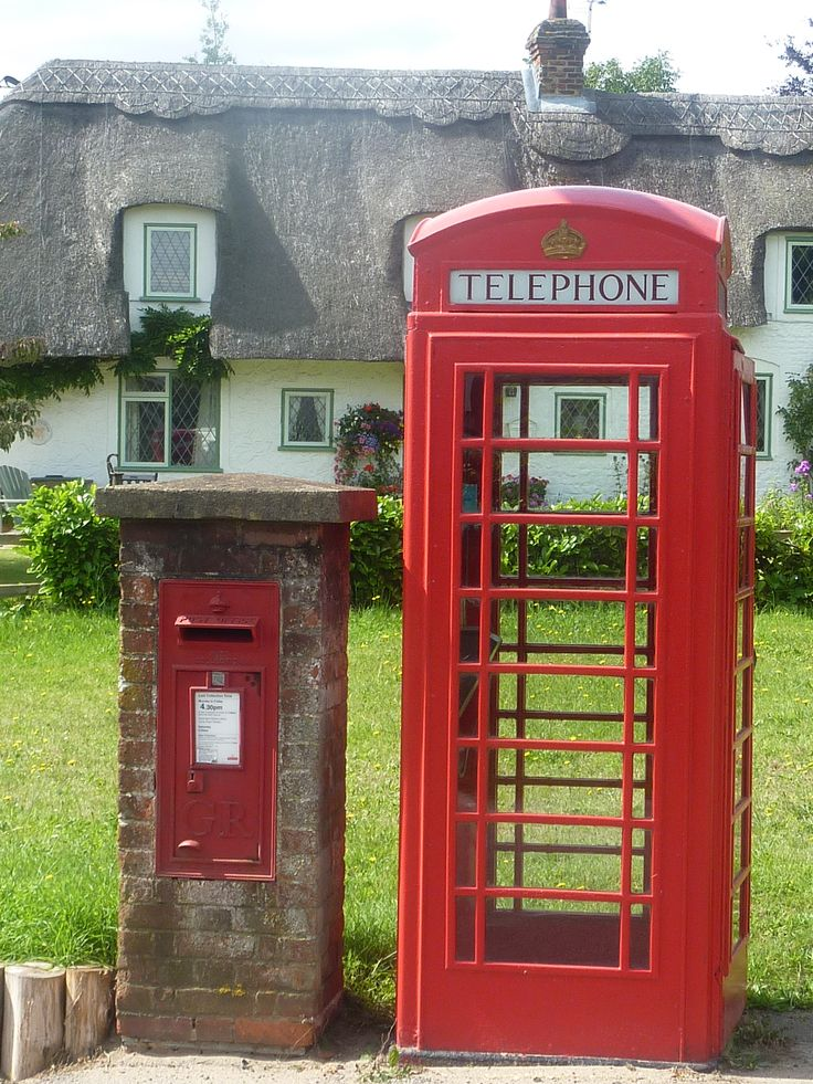 Phone Booth clipart red post box #2