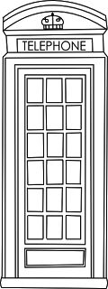 Telephone Booth clipart telephone box K2 Beyond dimensions PROJECT box
