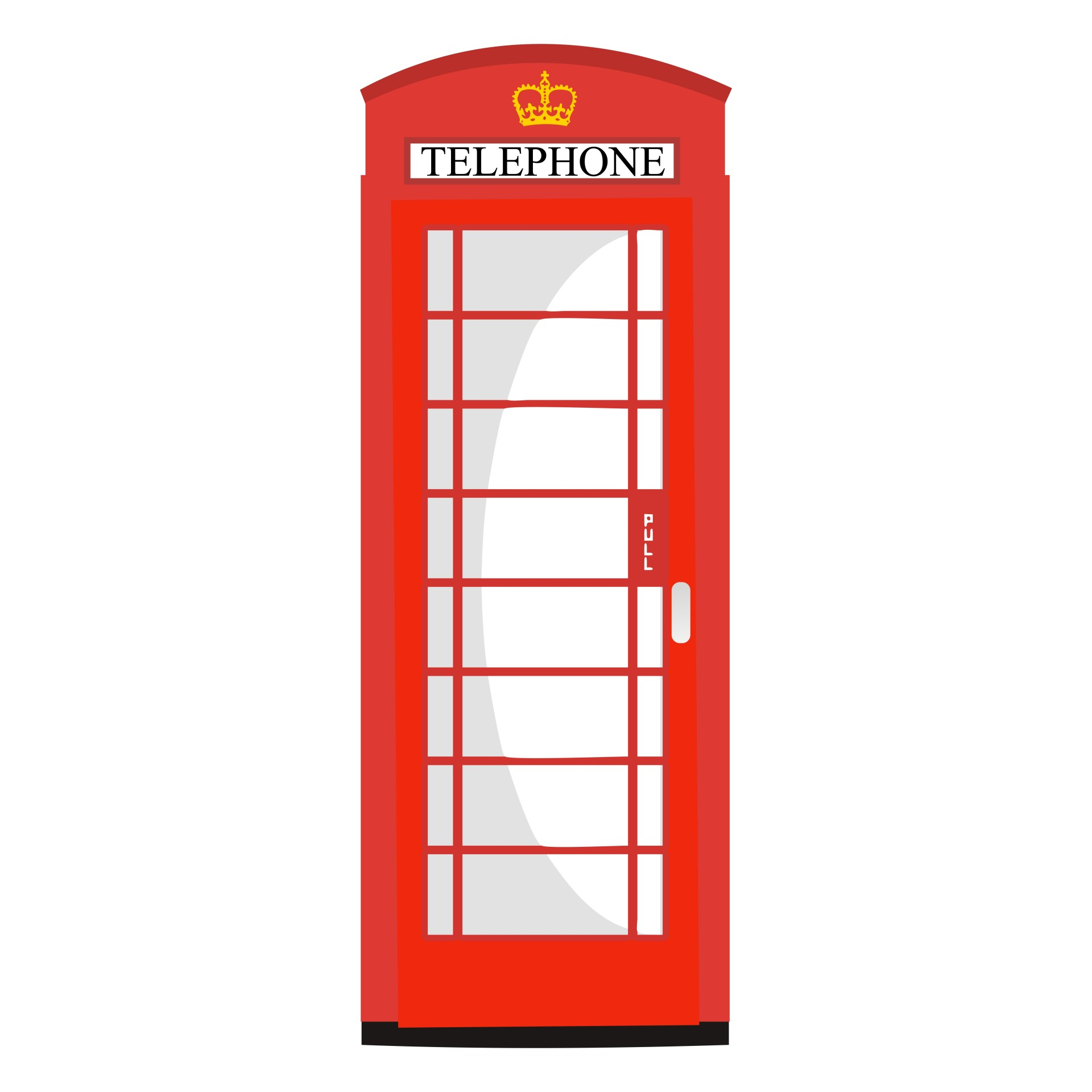 Telephone Booth clipart telephone box Red  Pictures Page Public