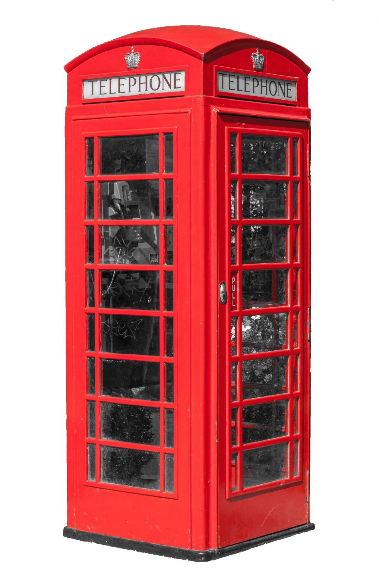 Telephone Booth clipart telephone box Domain Telephone Public Pictures Red
