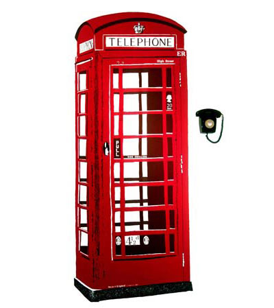Telephone Booth clipart telephone box Clker Phone art at com