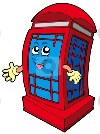 Telephone Booth clipart telephone box Booth Similar booth stock red