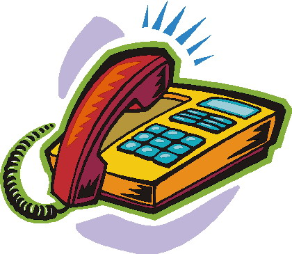 Telephone clipart sms Clip Art Images Telephone Free