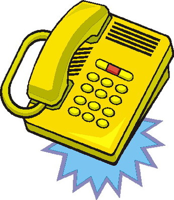 Telephone clipart gold Free telephone 5 art Telephone